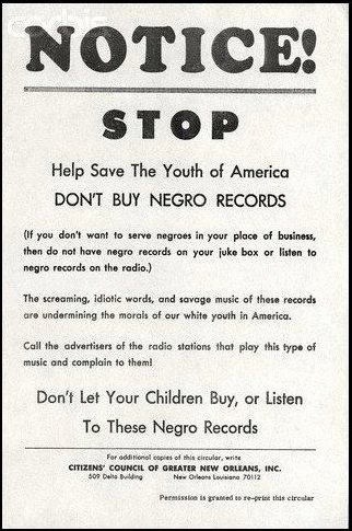No Black Music 1960